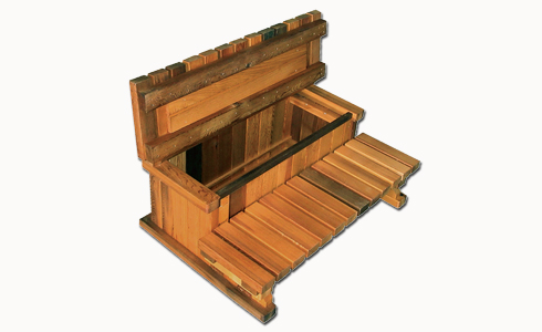 2 Tier Hot Tub Storage Step